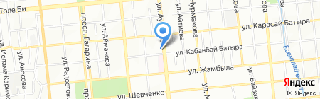 New World Way на карте Алматы