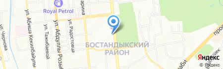 Ротанг на карте Алматы