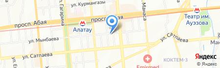Disti на карте Алматы