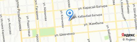 Алматинский региональный диагностический центр на карте Алматы