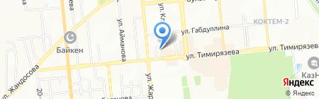 АОСТА на карте Алматы