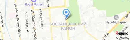 Center Print на карте Алматы