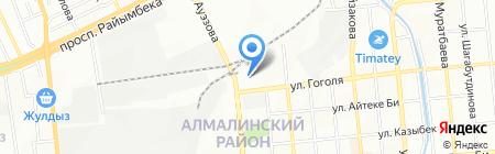 Кере-Med на карте Алматы
