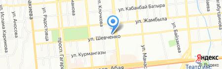 Zonda на карте Алматы