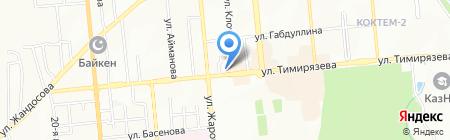 ВТБ Банк на карте Алматы