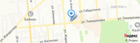 NIKA-A на карте Алматы