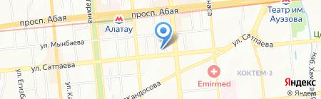 КЗИ Банк на карте Алматы