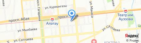 Тренинговый центр на карте Алматы