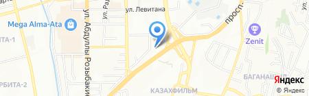 Hyundai Premium Almaty на карте Алматы