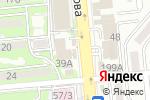 Схема проезда до компании Сеть аптек в Алматы