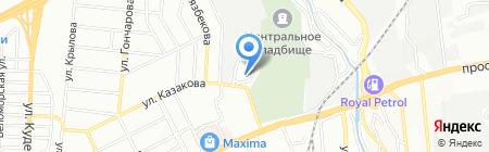 Autosys на карте Алматы