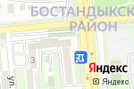 Схема проезда до компании Клиника Мамекова в Алматы
