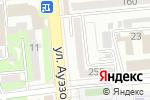 Схема проезда до компании Dveridecor.kz в Алматы
