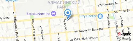 Версаль на карте Алматы