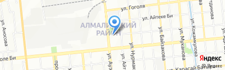 АвтоТехТрейд на карте Алматы