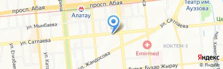 CNN на карте Алматы