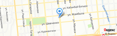 SHARK на карте Алматы