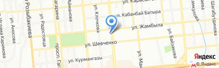 Extoys.kz на карте Алматы