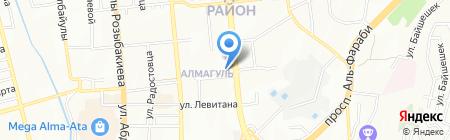 Дракоша на карте Алматы