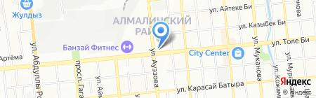Fort Vernyi на карте Алматы
