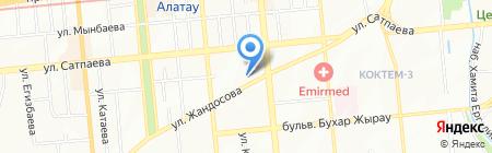 Восторг на карте Алматы