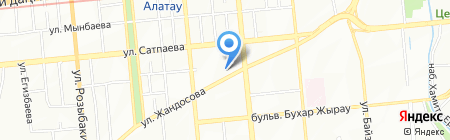 Нотариус Огай А.С. на карте Алматы
