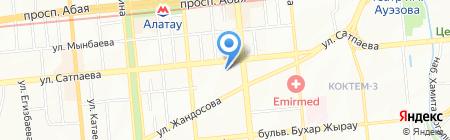 Клиника инновационной медицины на карте Алматы