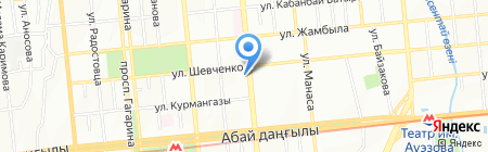 Novobrands на карте Алматы