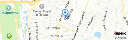 ОВАЦИЯ на карте Алматы