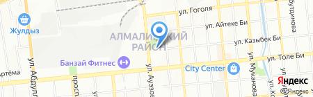 Shkafi.kz на карте Алматы