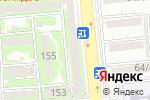 Схема проезда до компании Bellali в Алматы