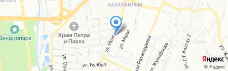 Стоматологический кабинет на карте Алматы