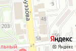 Схема проезда до компании 1КРЕДИТ, ТОО в Алматы