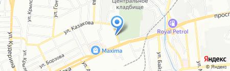 У Володи на карте Алматы