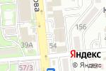 Схема проезда до компании AlmatyKizomba в Алматы