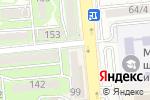 Схема проезда до компании Виваком в Алматы