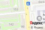 Схема проезда до компании Подружка в Алматы