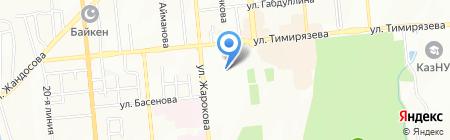 Гидромаш-Орион-Астана на карте Алматы