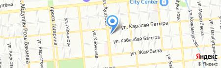 Арсенал на карте Алматы