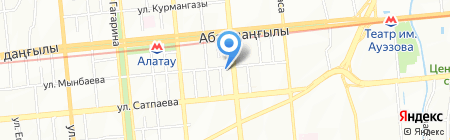 Полиграфическое бюро на карте Алматы