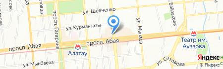 CORONA VIP на карте Алматы