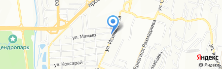 Байтерек на карте Алматы