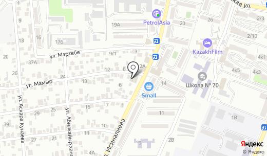 Байтерек. Схема проезда в Алматы