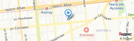 МАГИСТРАЛЬ на карте Алматы