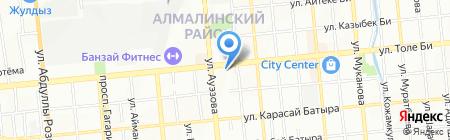 РЯНА на карте Алматы