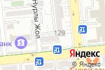 Схема проезда до компании VoIPShop.kz в Алматы