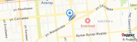 Умный дом на карте Алматы