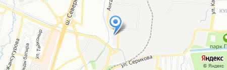 Вира на карте Алматы