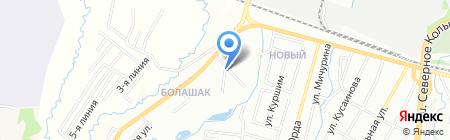 Казкотлосервис на карте Алматы