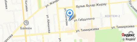 Transfer Service на карте Алматы